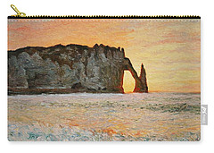 Etretat, Sunset  Carry-all Pouch