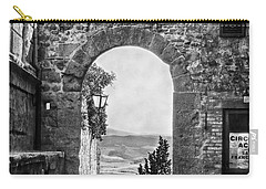 Etruscan Arch B/w Carry-all Pouch