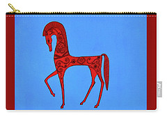 Etruscan Horse #2 Carry-all Pouch