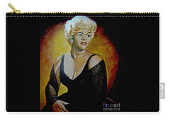 Etta James Carry-all Pouch by Chelle Brantley