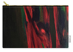 Carry-all Pouch featuring the painting Eucalyptus by Karen Nicholson