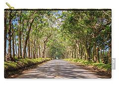 Eucalyptus Tree Tunnel - Kauai Hawaii Carry-all Pouch by Brian Harig