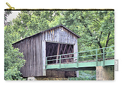 Euharlee Creek Covered Bridge Carry-all Pouch