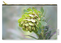 Carry-all Pouch featuring the photograph Euphorbia by Linda Lees