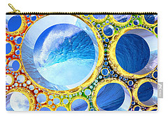 Carry-all Pouch featuring the digital art Euphoria by Andreas Thust