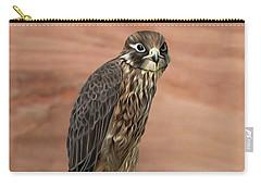 Eurasian Hobby Falcon Carry-all Pouch