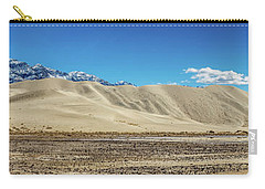 Carry-all Pouch featuring the photograph Eureka Dunes - Death Valley by Peter Tellone