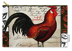 Europa Rooster II Carry-all Pouch by Mindy Sommers