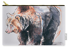 European Brown Bear Carry-all Pouch