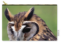Eurasian Striped  Owl Carry-all Pouch