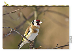 European Goldfinch 2 Carry-all Pouch by Jouko Lehto