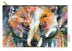 European Red Fox Carry-all Pouch