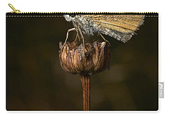 Carry-all Pouch featuring the photograph European Skipper by Jouko Lehto