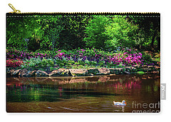 Eutopia At The Muskogee Azalea Festival Carry-all Pouch by Tamyra Ayles