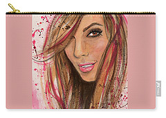 Eva Longoria Carry-all Pouch by P J Lewis