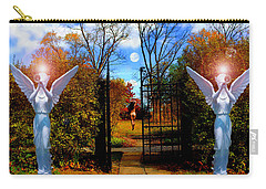 Eve In The Garden Of Eden Carry-all Pouch by Michael Rucker