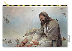 Even A Sparrow Carry-all Pouch