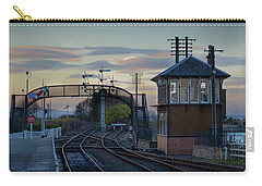 Evening At Bo'ness Station Carry-all Pouch