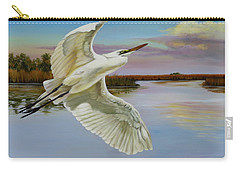 Evening At Campbell's Bayou Carry-all Pouch