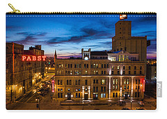 Evening At Pabst Carry-all Pouch by Bill Pevlor