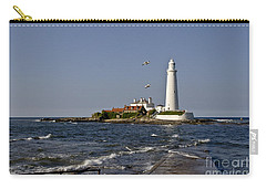 Evening At St. Mary's Lighthouse Carry-all Pouch
