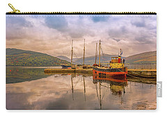 Evening At The Dock Carry-all Pouch by Roy McPeak