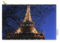 Evening At The Eiffel Tower Carry-all Pouch