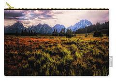 Evening At The Grand Tetons  ... Carry-all Pouch