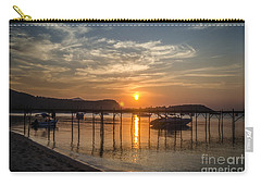 Evening At The Pier Carry-all Pouch