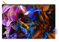 Carry-all Pouch featuring the painting Evening Bouquet by Hanne Lore Koehler