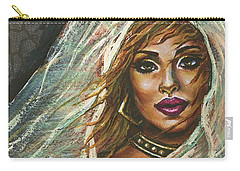 Carry-all Pouch featuring the painting Evening Breeze by Alga Washington