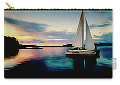 Evening Colors Carry-all Pouch by Vladimir Kholostykh