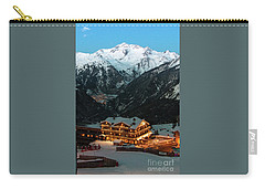 Evening Comes In Courchevel Carry-all Pouch