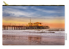 Evening Glow At The Pier Carry-all Pouch