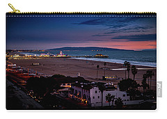 Evening Glow On The Pier Carry-all Pouch