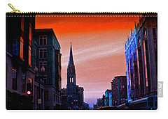 Evening In Boston Carry-all Pouch