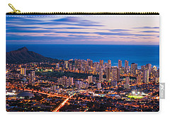 Evening In Honolulu Carry-all Pouch