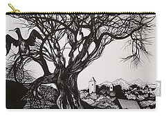 Evening In Midnapore Carry-all Pouch by Anna  Duyunova