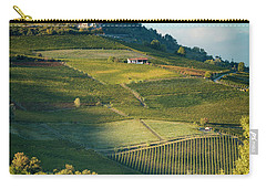 Carry-all Pouch featuring the photograph Evening In Piemonte by Brian Jannsen