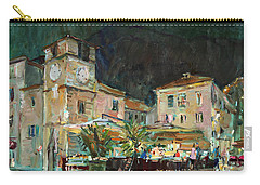 Evening In The Old Town Carry-all Pouch