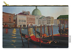 Evening In Venice Carry-all Pouch