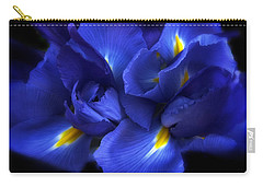 Evening Iris Carry-all Pouch by Jessica Jenney