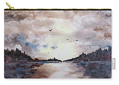 Evening Light Carry-all Pouch by Geni Gorani