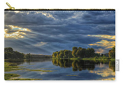 Evening Light Carry-all Pouch by Lynn Hopwood