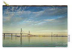 Evening Lights On The Bay Cadiz Spain Carry-all Pouch