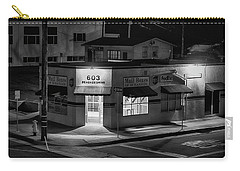 Carry-all Pouch featuring the photograph Evening On Seagaze by Hugh Smith