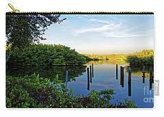 Evening On The Bayou Carry-all Pouch by Paul Mashburn