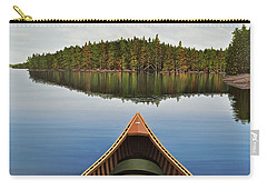 Evening Paddle  Carry-all Pouch by Kenneth M  Kirsch