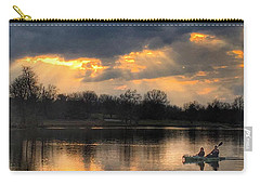 Carry-all Pouch featuring the photograph Evening Relaxation by Sumoflam Photography