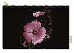 Carry-all Pouch featuring the photograph Evening Rose Mallow by Danielle R T Haney